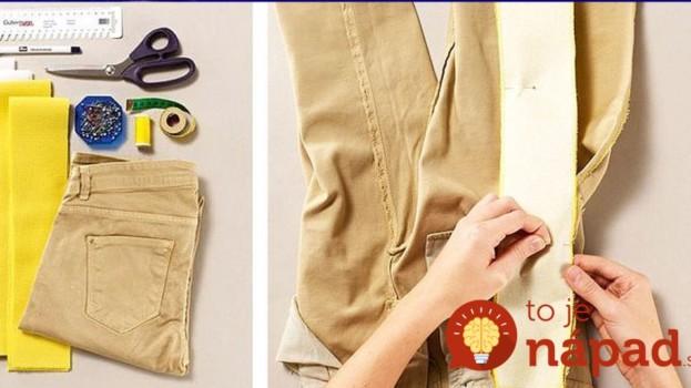 Pozoruhodné triky, ako predĺžiť a rozšíriť vaše obľúbené kúsky oblečenia: Budú vyzerať lepšie, ako predtým!