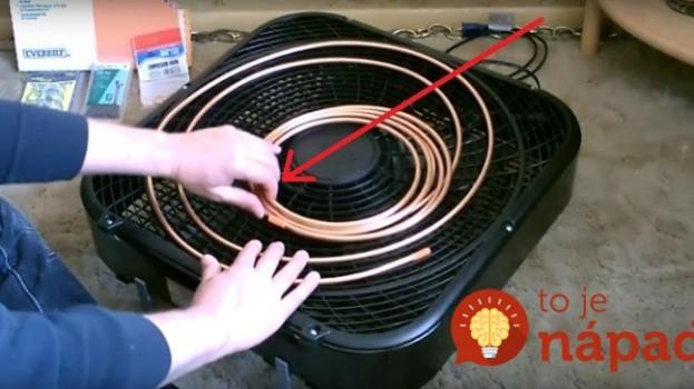 Tento chlapík sa teda vynašiel: Prišiel s geniálnym trikom, ako ušetriť za klimatizáciu pomocou obyčajného ventilátora, naučí to aj vás!