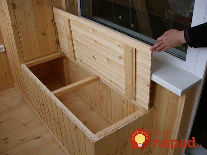 Ящик для хранения картофеля на балконе: сделать своими рукам.