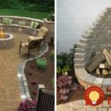 23 krásnych inšpirácií na záhradné ohniská, ktoré si viete ľahko zhotoviť aj vy!