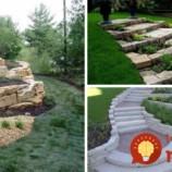 Úžasné kaskádovité záhony z kameňov: 21 krásnych nápadov, ktoré môžu byť ozdobou aj vašej záhrady!