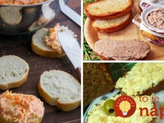 Každú zvládnete do 10 minút: 9 receptov na zdravé nátierky, ktoré chutia výborne a nepriberiete z nich!