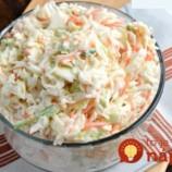 Chutí ako z reštaurácie: Super chutný zelený šalát so sladko-kyslou zálievkou!
