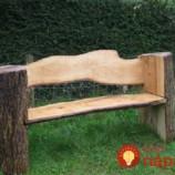 11 kreatívnych nápadov na krásne a netradičné lavičky z dreva do vašej záhrady!