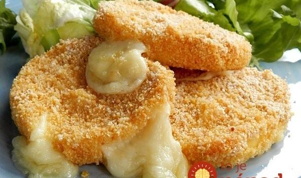 Chutí ako vyprážaný: Výborný syr v trojobale pečený v rúre!