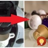Toto vám ušetrí aj stovky Eur: Drahé kávové kapsule už nikdy nevyhadzujte, takto jednoducho ich opäť použijete!