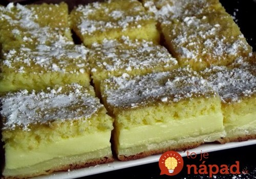 Inteligentný koláčik: Do rúry vložíte jedno cesto a vyberiete dezert s tromi vrstvami!