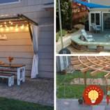17 nápadov na krásne prístrešky, ktoré vám poskytnú tieň a útočisko počas horúcich dní!