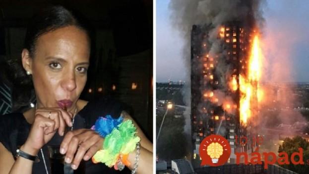 Geniálny trik tejto mamy môže zachrániť aj vás! Uviazla v horiacej budove v Londýne a vďaka jej nápadu prežila ona aj jej rodina