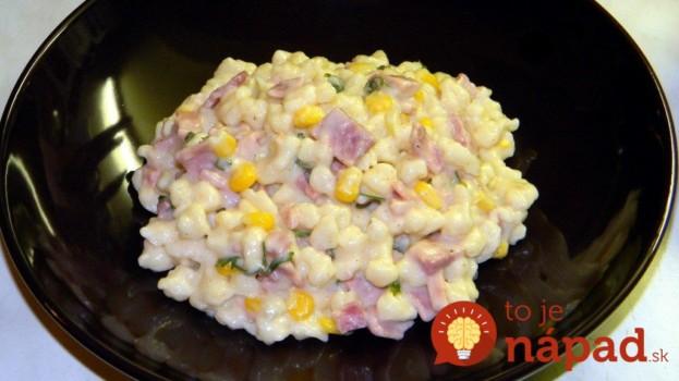 7–minútová omáčka so syrom a slaninkou: Na halušky aj všetky druhy cestovín, je výborná!
