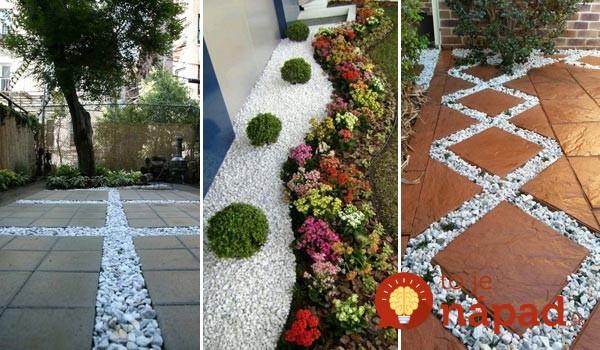 Úžasné veci, ktoré môžete urobiť v záhrade, ak si do nej necháte priviesť trochu štrku!