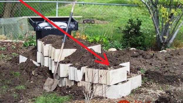 Muž priniesol do záhrady tvárnice a zasypal ich zeminou: Práca mu trvala len pár hodín, no výsledok vás očarí!