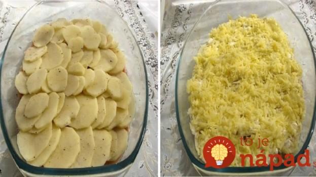 Vrstvený kurací pekáč: Výborné papanie pre celú rodinu bez kopy špinavého riadu!