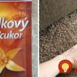 Našli ste doma vanilkový cukor po záruke? Rozsypte ho na koberec, ide o perfektný trik, účinkuje v momente!