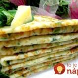 Keď palacinky na slano, tak jedine podľa tohto receptu: Pridajte do cesta aj cesnak a syr, lepšie ste ešte nejedli!