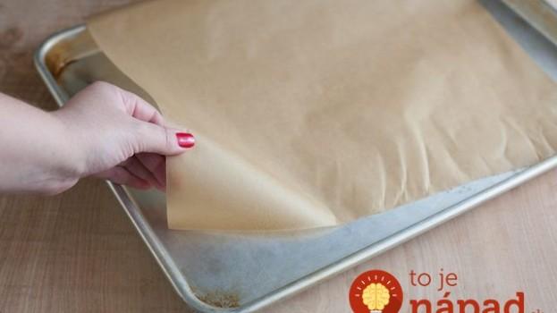 Perfektná finta s papierom na pečenie: Vďaka tomuto budete mať cesto upečené rýchlejšie a pečivo bude chutnejšie!