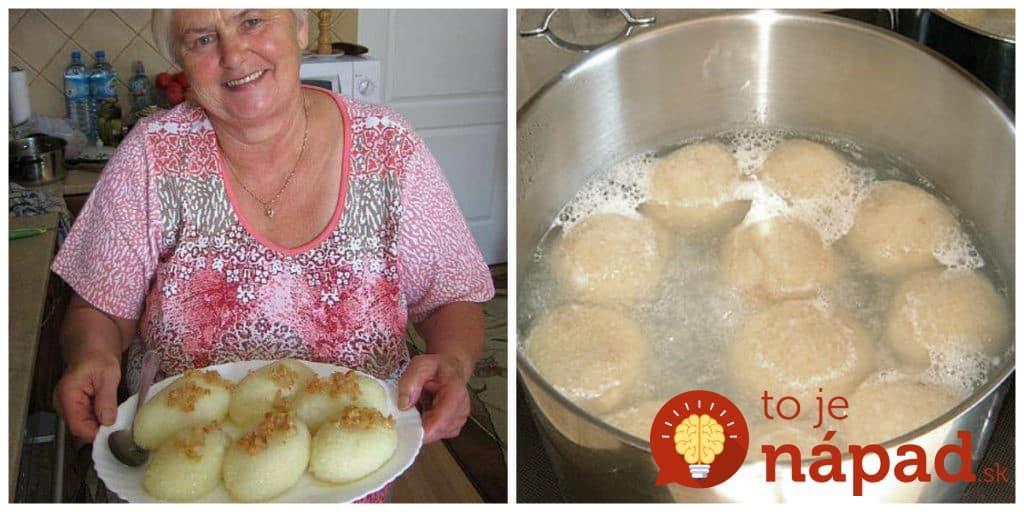Výsledok vyhľadávania obrázkov pre dopyt Najlepší recept na zemiakové knedle: Originál od tetušky z Poľska, také dobré sme ešte nejedli!