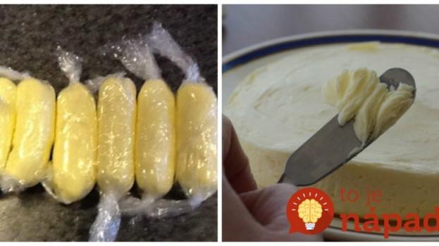 Maslo z obchodu je čoraz drahšie a menej kvalitné: Vyrobte si ho doma z jedinej prísady a máte istotu, že jete to najlepšie!