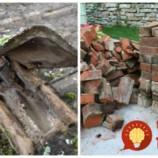 Keď dokončili rozoberanie starej chalupy, žena a deti si išli užiť zaslúžený odpočinok: Neuveríte, čo zatiaľ urobil muž s materiálom, ktorý zo stavby ostal!