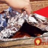 Používate pri príprave jedla alobal? Ak poznáte túto fintu, jedlo sa vám upečie rýchlejšie a bude omnoho zdravšie!