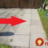 Toto je jediný spôsob, ak sa mi podarilo odstrániť mach a burinu zo záhradnej dlažby: Zafungovalo to okamžite!