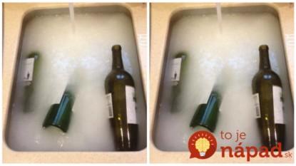 Namiesto toho, aby prázdne fľaše vyhodila, namáča ich do tohto roztoku: Stačí pár sekúnd a na obyčajný odpad sa budete razom pozerať celkom inak!