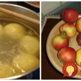 Toto je najlepší spôsob, ako zužitkovať jabĺčka zo záhrady: Mäkučké jablkové knedle bez vajec, len z dvoch prísad!