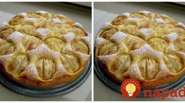 Tento koláčik je ešte jednoduchší ako bublanina: Top jesenný jablkáč so škoricou a cestom ako pavučinka!