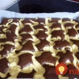 Jemná čokoládová piškóta s vanilkovým pudingom: Celý plech vás vyjde na menej ako 4 eurá!