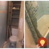 50- ročná kúpeľňa jeho mamy bola v hroznom stave: Syn si vyhrnul rukávy a za 5 dní ju takto úžasne prerobil!