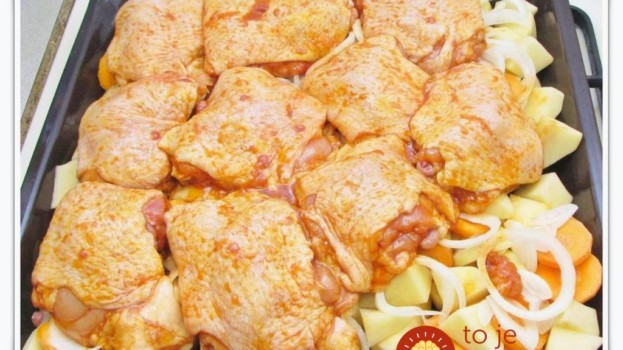 U nás doma sa pečené kurča veľmi nemusí, ale za týmto jedlom sa idú všetci potrhať: Ministerské kurča na môj spôsob!