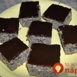 7-minútový sypaný makový koláč: Bez cesta a bez múky, stačí len nasypať na plech a viac sa nemusíte starať!