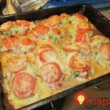 Pizza z rezňov: Namiesto cesta som dala na plech rezne a obľúbené pizza prísady, za túto pochúťku vás bude manžel na rukách nosiť!