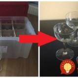 Každý rok pred vianocami vyberie z krabíc sklenené poháre: Nechystá ich však na slávnostný prípitok, to čo z nich vyrába očarí každého, kto vojde do bytu!