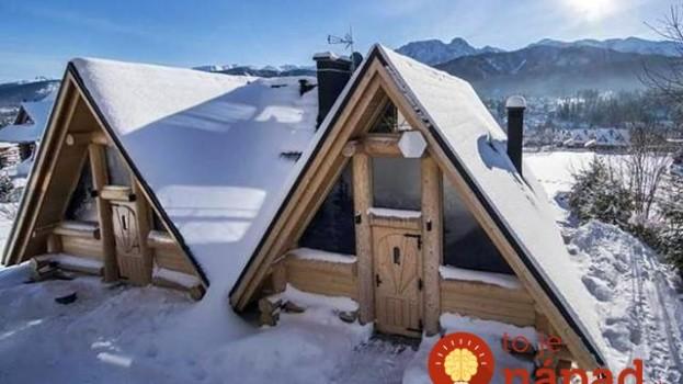 Tieto rozprávkové domčeky by ste si pod snehom možno ani nevšimli: Keď uvidíte to vnútro, budete chcieť ostať navždy!