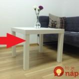 Tento lacný Ikea stolík máte doma možno aj vy: Neuveríte, na čo ho premenili šikovní ľudia!