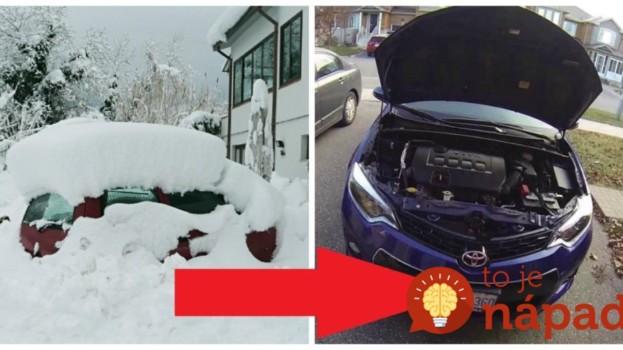 Toto radím každému šoférovi v zime, mám to overené celé roky: Majte vždy poruke tento sprej, mnohí ľudia nevedia, že vám môže zachrániť auto!