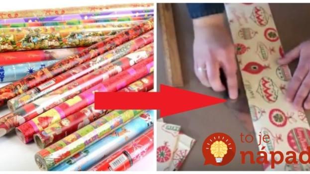 Táto žena kupuje baliaci papier vo veľkom vždy, keď je v akcii: Keď uvidíte, čo s ním robí, hneď si rozmyslíte, či doň tento rok zabalíte darčeky!