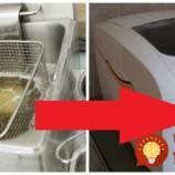 Perfektná finta, ako rýchlo vyčistiť friťák bez toho, aby ste prstom pohli: Platí to aj na starú, usadenú mastnotu!