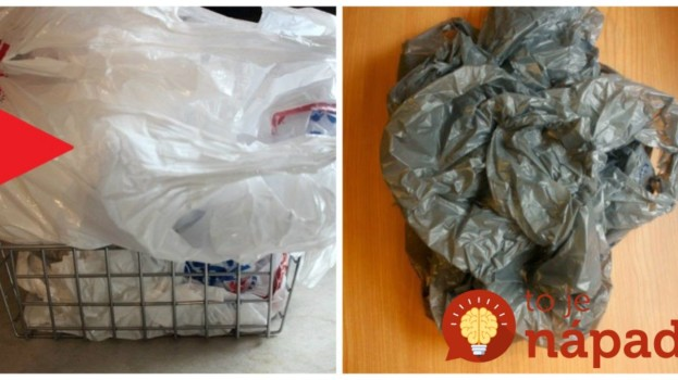 Perfektná finta pre každého, komu sa doma povaľujú igelitové tašky: Naučte sa tento nápad a už vám nikdy nebudú doma prekážať!