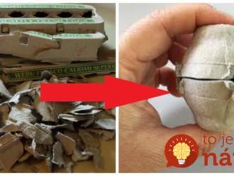 Vzala prázdne kartóny od vajec, začala ich strihať a ohýbať: Keď uvidíte ten vianočný nápad, nevyhodíte už ani jednu!