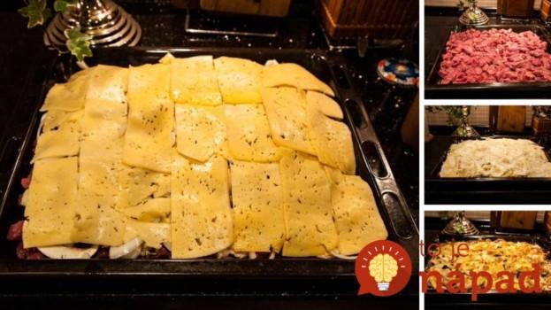 Vrstvený bravčový kastról na slávnostný stôl: Najlepšie papáničko na svete!