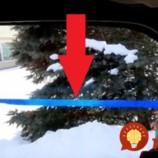 Celú zimu bez zahmlených okien: Chlapík vzal pásku, prilepil ju na okno v aute a všetkým ukázal, čo skutočne funguje proti zahmlievaniu okien!