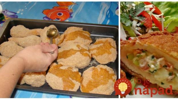 Kardinálske plnené rezne: Pripravila som ich na slávnostný obed a mali ohromný úspech, sú fantastické a vôbec nie mastné!
