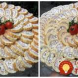 Perfektný tip na slané pohostenie, alebo chutnú večeru: Rýchla slaná roláda, ktorá sa vždy vydarí!
