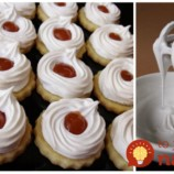 Snehové kolieska s tým najlepším bielkovým krémom: Je výborný aj do iných dezertov!