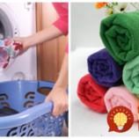 Zabudnite na ocot a aviváž, trik odkukaný z hotela je na uteráky bezkonkurenčný: Stačí, ak urobíte 1 hodinu pred praním túto vec!