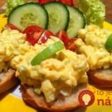 Kúzelná vajíčková nátierka: Bez šúpania vajec, hotová za 5 minút a absolútne fantastická!