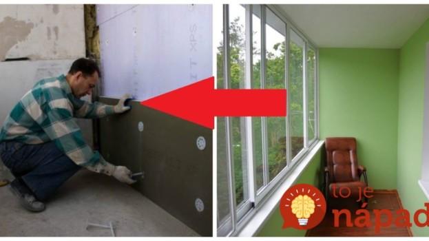 Hneval ich nedostatok miesta v byte a vždy preplnené skrine: Pozrite sa, čo títo ľudia urobili s balkónom, aby získali extra úložný priestor!