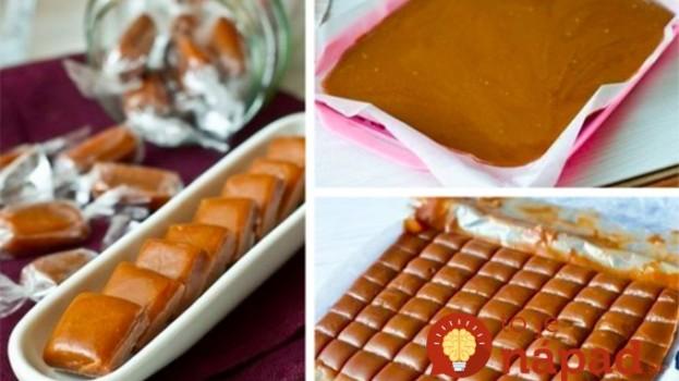 Šľahačkové karamelky pre deti, sladené medom: Namieste sladkostí zobchodu vyskúšajte tento recept!
